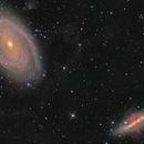 M81 & M82 first light ASI1600MM,                                Lukas_TW