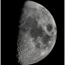 Moon with little Zeiss,                                Astro-Clochard