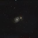 Whirlpool Galaxy - June 11, 2015,                                Chappel Astro