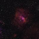 NGC 7635 Bubble Nebula & M52 Narrowband.,                                Chris