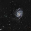 Pinwheel galaxy - M101,                                PiPais