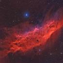 California Nebula HOORGB Mosaic,                                Phil Brewer