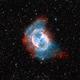 M27 The Dumbbell Nebula (bicolor),                                Bogdan Jarzyna