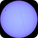 ISS passing in front of the Sun,                                Karlov
