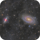 M81 and M82 Group - Through the Haze,                                Jason Guenzel