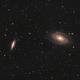 M81/M82 LRGB test run,                                Pam Whitfield