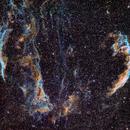 Veil Nebula,                                Laurent Fournet