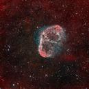 NGC6888 - Crescent Nebula- complete rework,                                Volker Gutsmann