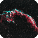 Eastern Veil Nebula In Narrowband,                                mlewis