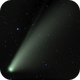 Comet Neowise - Close up,                                Rick Burke