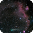 comet 21P/Giacobini-Zinner and IC 2177 in Monoceros,                                andrealuna