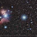 IC434 - Horsehead and Flame Nebula,                                Mark Hudson