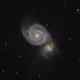 M51 Whirlpool Galaxy,                                Brandon Liew