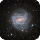 The Southern Pinwheel Galaxy M83,                                DiscoDuck
