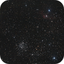 The Bubble Nebula (NGC 7635) and M52,                                Peter Strapp