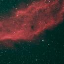 Small Section of the California Nebula,                                David Quattlebaum