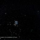 Plejades (Messier 45) located in the constellation of Taurus,                                Hans-Peter Olschewski