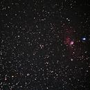 Messier 52 & Blasennebel,                                Christian Höferlin