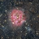 NGC 5146 Cocoon Nebula, over 24 hours exposure,                                Stephan Linhart