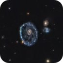 The Cartwheel Galaxy – 500 million light-years away,                                Terry Robison