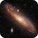 Andromeda Galaxy - M31,                                Chuck's Astrophotography