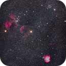 Nebulas and Clusters in Gemini and Orion Mosaic,                                Alan Dyer
