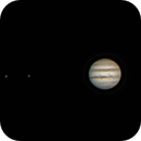 Jupiter, Io, and Ganymede,                                Bill Taylor