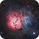 M20 - Trifid Nebula,                                Juan Filas