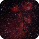 Cats Paw Nebula - NGC 6334,                                Hayden Purcell