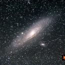 Andromeda Galaxy,                                Enkhbat N.
