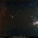M 78 - NGC 2024 - IC 434,                                Gérard Nonnez