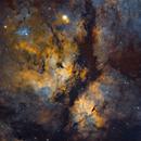 IC 1318 - Butterfly Nebula,                                Yannick Akar