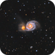 Messier 51, Whirlpool galaxy and friend.  HaLRGB,                                Iñigo Gamarra