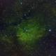 SH2 - 86 (NGC 6823, NGC 6820),                                Dirk Schwarze