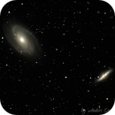 M81 Bode's Galaxy and M82,                                Anders Quist Hermann