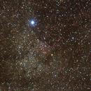 Deneb und NGC 7000,                                Benny Hartmann