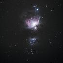 Orion Nebula - M42,                                Fojler