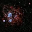 Clusters in LMC (NGC 1760, NGC 1769, NGC 1773, NGC 1783),                                Leonel Padron