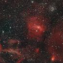 Cepheus, M52 and NGC7635,                                Nick MacIvor