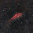 California Nebula in RGB,                                David McClain