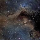 IC1848 Ha - Detail,                                Emilio Zandarin