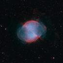 M27 bicolor (H-alpha/OIII),                                rhedden