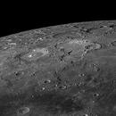 Lunar north pole, good libration,                                Wouter D'hoye