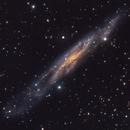 Barred Spiral in Andromeda,                                Ian Gorin