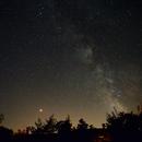 Milky Way from my garden,                                FranckIM06