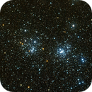 The double cluster (NGC 884 & 869),                                Gendra