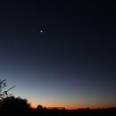 Jupiter - Saturn Conjunction 2020_12_18,                                Rodney Watters