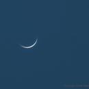 Venus near inferior conjunction,                                Harrington Beach Imagers Group