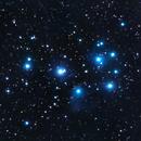 M45 The Pleiades,                                  Wilson