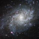 M 33 - Triangulum Galaxy (LRGB),                                Ruediger